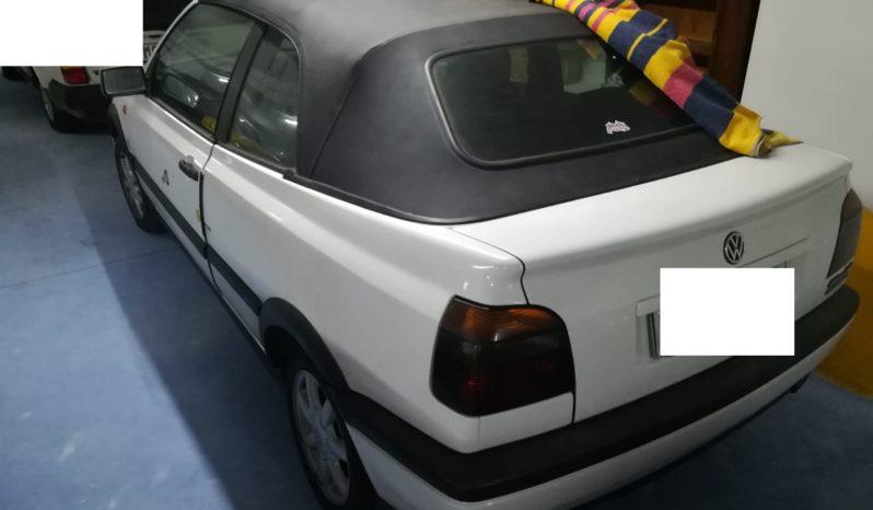 Golf 3 Cabrio completo